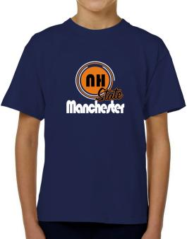 Manchester - State T-Shirt Boys Youth
