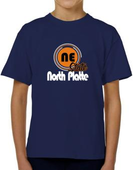 North Platte - State T-Shirt Boys Youth