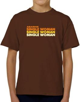 Abarne Single Woman T-Shirt Boys Youth