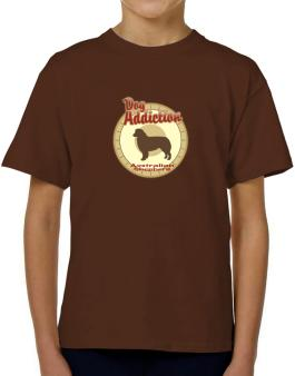 Dog Addiction : Australian Shepherd T-Shirt Boys Youth