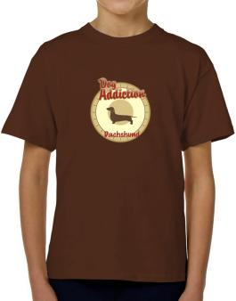 Dog Addiction : Dachshund T-Shirt Boys Youth