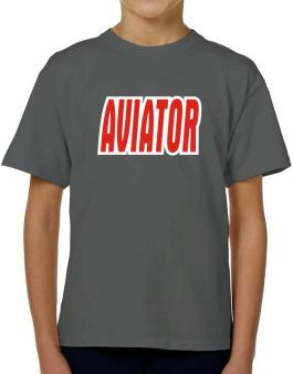 Aviator T-Shirt Boys Youth