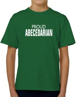 Proud Abecedarian T-Shirt Boys Youth