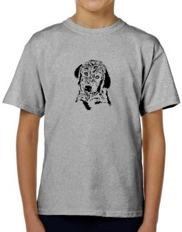 Labradoodle Face Special Graphic T-Shirt Boys Youth