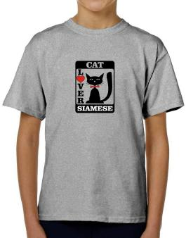Cat Lover - Siamese T-Shirt Boys Youth