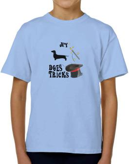 My Dachshund Does Tricks ! T-Shirt Boys Youth
