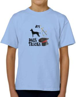 My Peruvian Hairless Dog Does Tricks ! T-Shirt Boys Youth
