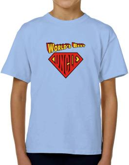 Worlds Best Uncle T-Shirt Boys Youth