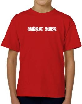 Ambient House - Simple T-Shirt Boys Youth