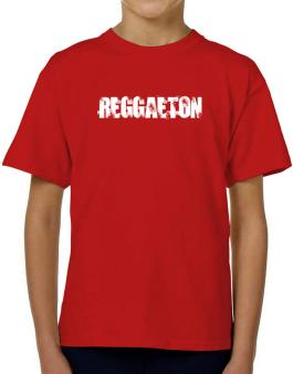 Reggaeton - Simple T-Shirt Boys Youth