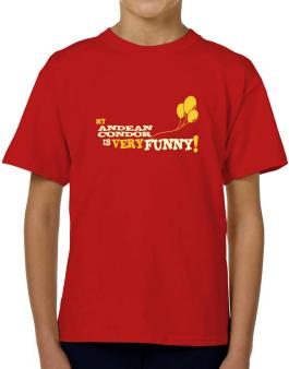 My Andean Condor Is Very Funny T-Shirt Boys Youth