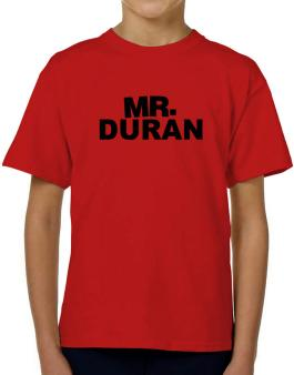 Mr. Duran T-Shirt Boys Youth