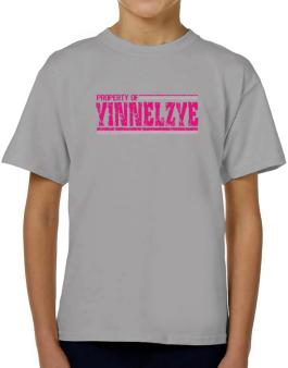 Property Of Yinnelzye - Vintage T-Shirt Boys Youth