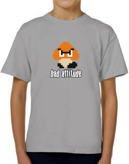 Bad Attitude T-Shirt Boys Youth