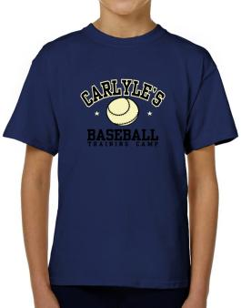 Carlyles Baseball Training Camp T-Shirt Boys Youth