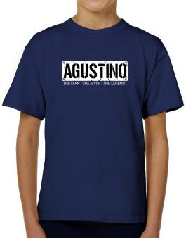 Agustino : The Man - The Myth - The Legend T-Shirt Boys Youth