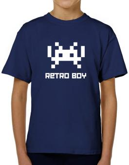 Retro Boy T-Shirt Boys Youth