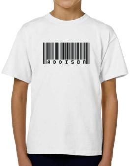 Bar Code Addison T-Shirt Boys Youth