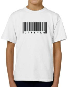 Bar Code Carlyle T-Shirt Boys Youth