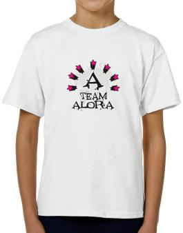 Team Alora - Initial T-Shirt Boys Youth