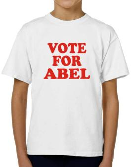 Vote For Abel T-Shirt Boys Youth
