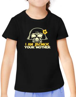 I Am Jacqui, Your Mother T-Shirt Girls Youth