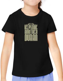 Help Me To Make Another Duran T-Shirt Girls Youth