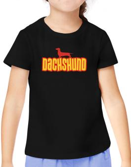 Breed Color Dachshund T-Shirt Girls Youth
