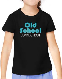 Old School Connecticut T-Shirt Girls Youth