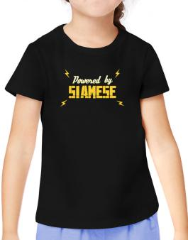 Powered By Siamese T-Shirt Girls Youth