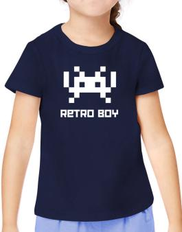 Retro Boy T-Shirt Girls Youth
