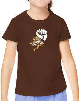 If Your Parents Dont Like Whiskey, Its Time To Become Independent T-Shirt Girls Youth