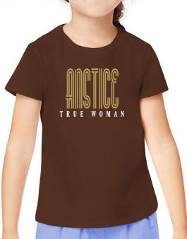 Anstice True Woman T-Shirt Girls Youth