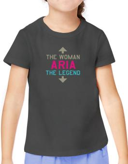 Aria - The Woman, The Legend T-Shirt Girls Youth