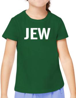 Jew - Simple T-Shirt Girls Youth