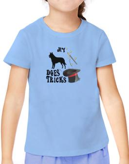 My Belgian Malinois Does Tricks ! T-Shirt Girls Youth