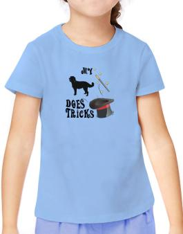 My Labradoodle Does Tricks ! T-Shirt Girls Youth