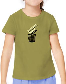 If Genmaicha Hinders Your Studies, Drop Them T-Shirt Girls Youth