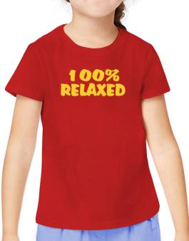 100% Relaxed T-Shirt Girls Youth