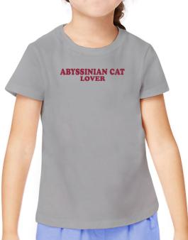 Abyssinian Lover T-Shirt Girls Youth