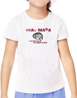 Krav Maga Is An Extension Of My Creative Mind T-Shirt Girls Youth