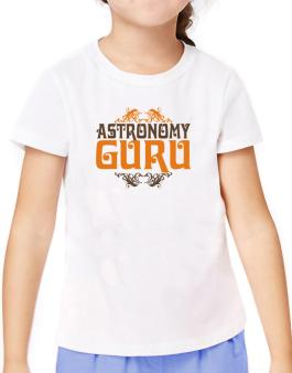 Astronomy Guru T-Shirt Girls Youth