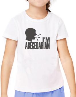Im Abecedarian - Face T-Shirt Girls Youth