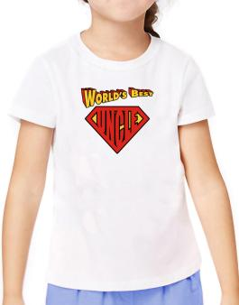 Worlds Best Uncle T-Shirt Girls Youth