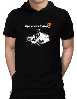 This Is Australia? - Astronaut Hooded T-Shirt - Mens