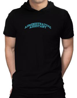 Administrative Assistant Hooded T-Shirt - Mens