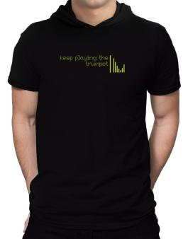 Keep Playing The Trumpet Hooded T-Shirt - Mens