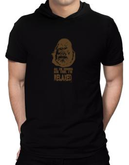 All The Rumors Are True , Im Relaxed Hooded T-Shirt - Mens