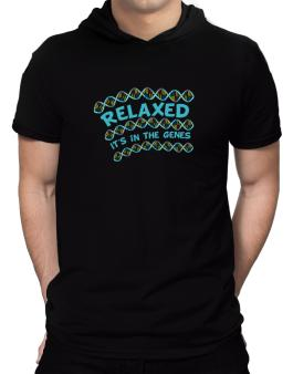 Relaxed. Its In The Genes Hooded T-Shirt - Mens