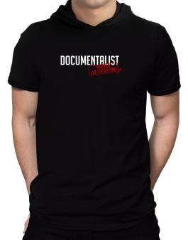 Documentalist With Attitude Hooded T-Shirt - Mens